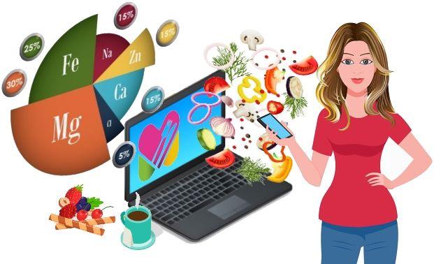 Recherche apports alimentaires par nom d'aliments
